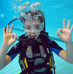 Cours de plongée vaud